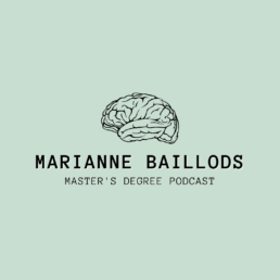 Marianne Baillods - Master's Degree Podcast